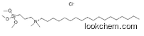 1-Octadecanaminium,N,N-dimethyl-N-[3-(trimethoxysilyl)propyl]-, chloride (1:1),27668-52-6