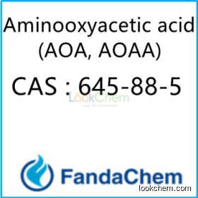 Aminooxyacetic acid (AOA, AOAA)  CAS No.: 645-88-5 from fandachemcid(645-88-5)