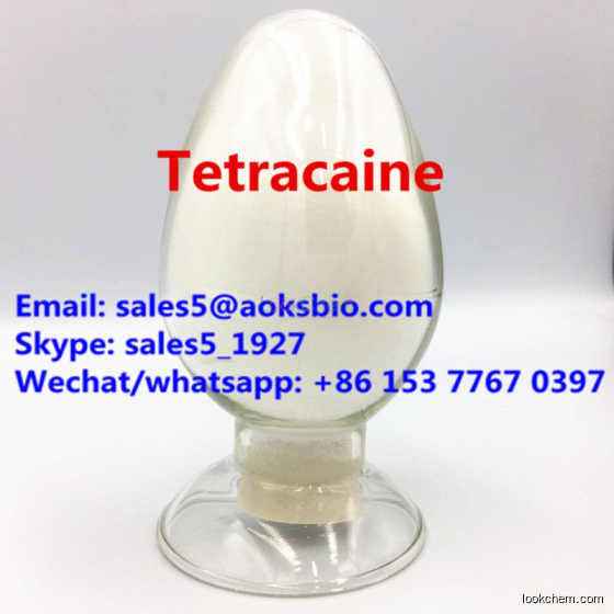Tetracaine CAS 94-24-6 China manufacturer supply best price