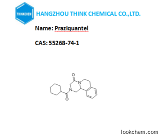 Low price Veterinary Praziquantel from factory