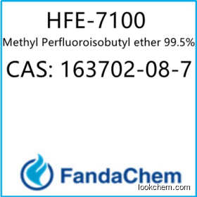 Methyl Perfluoroisobutyl ether 99.5%,cas:163702-08-7 from FandaChem