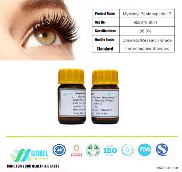 Myristoyl Pentapeptide-17  Beauty Peptide For Eyelash Growth