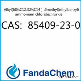 Alkyl(68%C12,32%C14)dimethyl(ethylbenzyl)ammonium chloride CAS:85409-23-0 from Fandachem