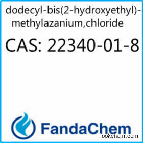 dodecylbis(2-hydroxyethyl)methylammonium chloride CAS:22340-01-8 from Fandachem