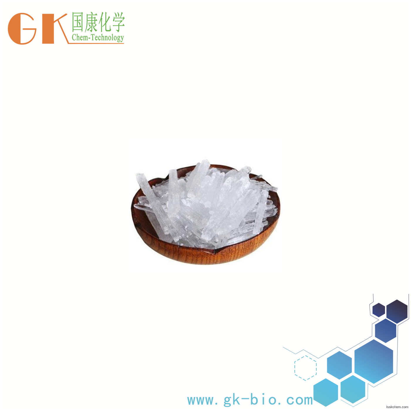 Cool feeling agent natural menthol crystals