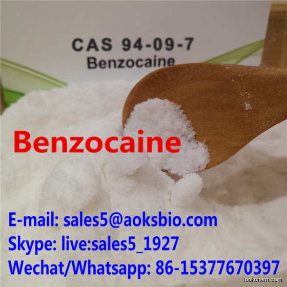 Benzocaine China for Pain Killer 100% Pass UK/CA Customs cas 94-09-7