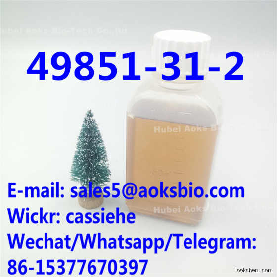 Source factory Alpha 2-Bromovalerophenone CAS 49851-31-2 / 49851 31 2 / 49851312