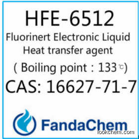 HFE-6512 cas:16627-71-7 Fluorinert Electronic Liquid Heat transfer agent from FandaChem