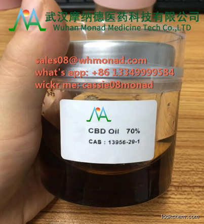 High Purity Crystal CBD Isolate Powder CBD CAS: 13956-29-1