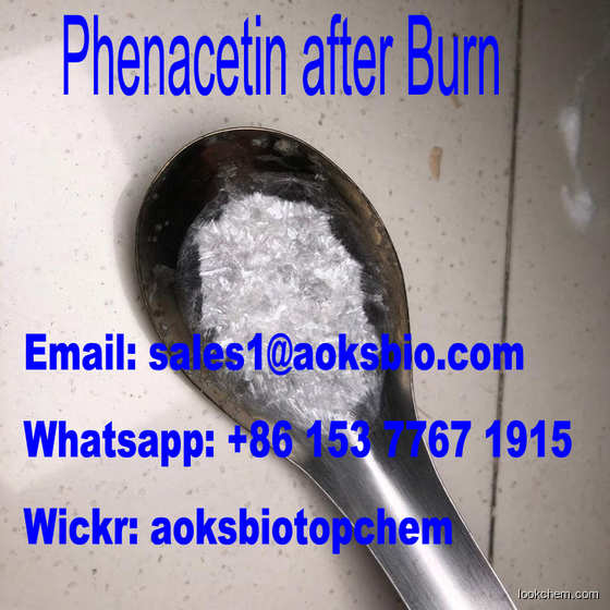 High quality Shiny Fluffy phenacetin Powder China top supplier