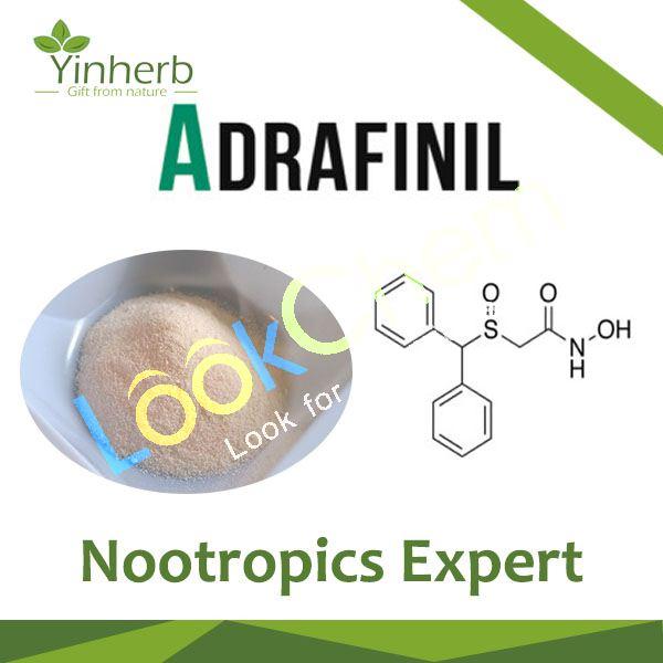 Adrafinil Nootropics powder, CasNo 63547-13-7 Xi'an Yinherb